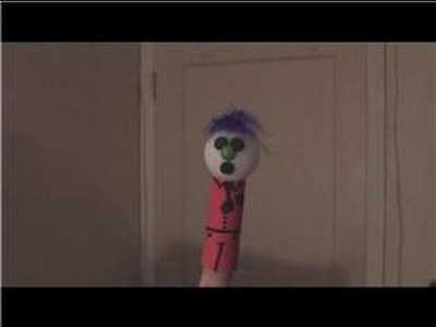 Creating Puppets With a Puppeteer : How To Make Finger Puppets