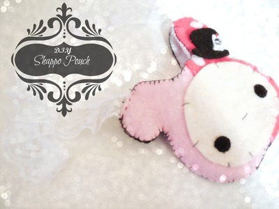 ♥D.I.Y Kawaii Shappo Pouch♥