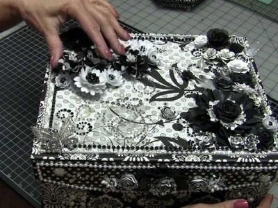 Decorated Box for Little Black Dress Mini Album