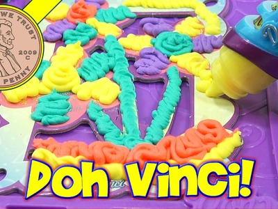 Doh Vinci Anywhere Art Studio Easel & Case, Hasbro Toys
