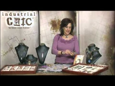 DOMINO Charm Necklace Tutorial  with Susan Lenart Kazmer