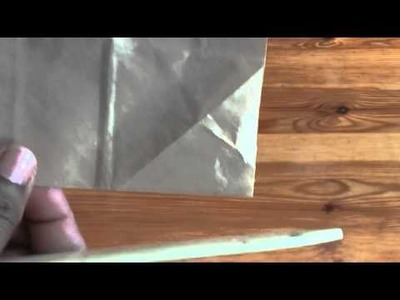 Donna's Staggered paperbag mini tutorial version 1: Pt 1