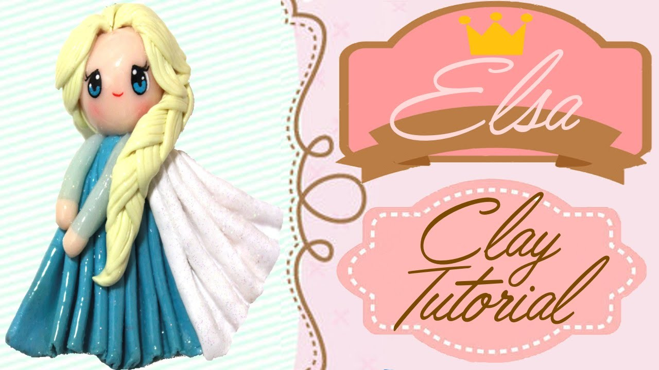 Elsa Frozen Chibi | Polymer Clay Tutorial