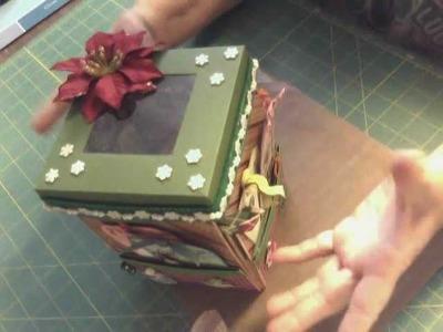Explosion Box Christmas Version