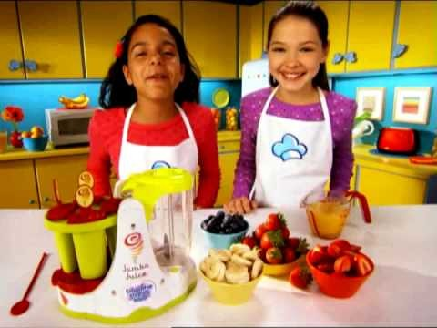 EZ-2 Make! Jamba Juice™ Smoothie & Ice Pop Maker TV Ad