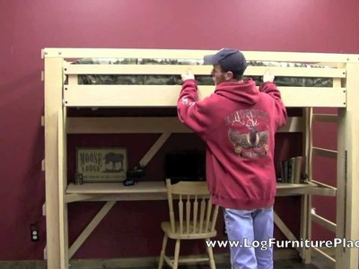 EZ Living Loft Bed - Easily Make Your Loft Bed without Strain