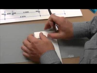 Foam board cut to make display mounting print foam boards
