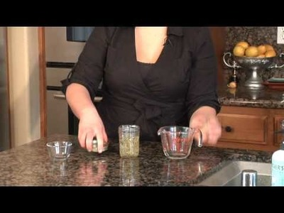 Herb & Fruit Recipes : How to Make Rosemary Oil