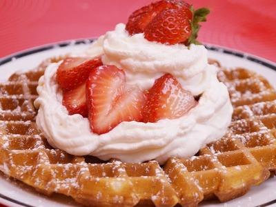 Homemade Waffles Recipe: From Scratch: How To Make Waffles:Diane Kometa-Dishin' With Di  #110