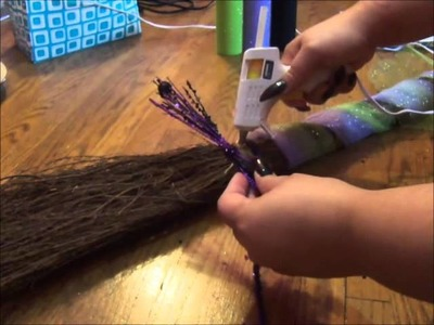 How to Decorate Your Broom.Besom
