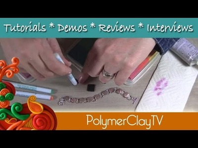 How to make a fun polymer clay bracelet with Shirley Rufener