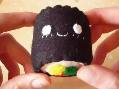 How to Make a Kawaii Sushi Plush! :3
