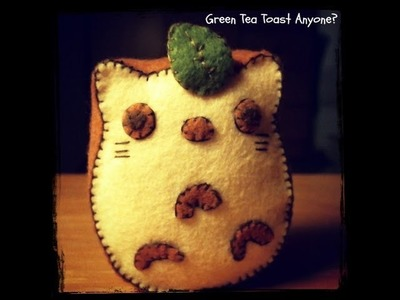 How To Make A Kawaii Totoro Toast Plushie Tutorial