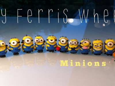 How to make a miniature minion out of polymer clay (Despicable Me)
