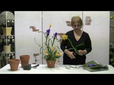 How To Make A Spring Silk Arrangement Using Silk Flowers