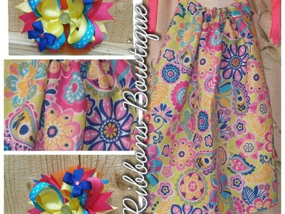 "HOW TO: Make a SUPER EASY ""Bandana"" Dress!"