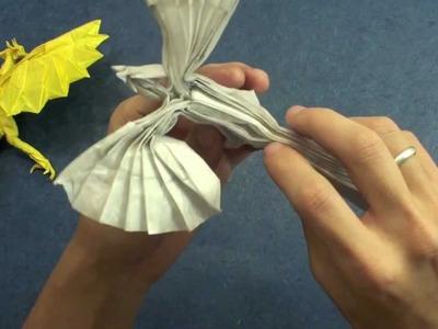 How to make an Origami Phoenix (Kamiya Satoshi phoenix 3.5)