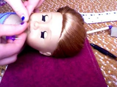 How to make braces for american girl dolls