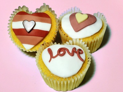 How to Make Heart Cupcakes - Valentines Day