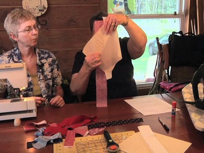 How-to make String Strip Block--Fun & Easy