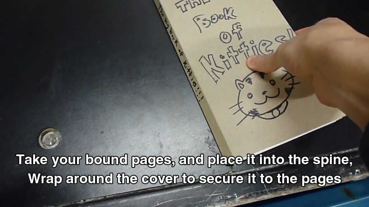 How to: Perfect Bind A Book By Hand