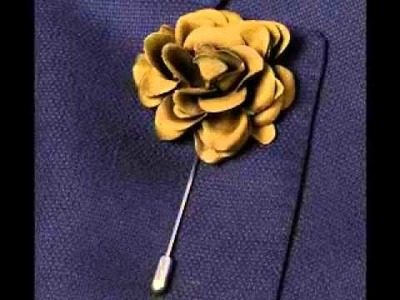 How to Wear a Men's Suit with a Lapel Flower