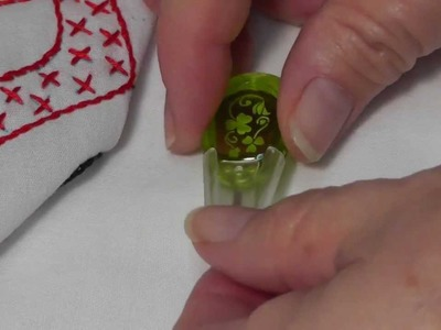 "Jack Dempsey Needle Art product spotlight ""Clover Embroidery Threader"""