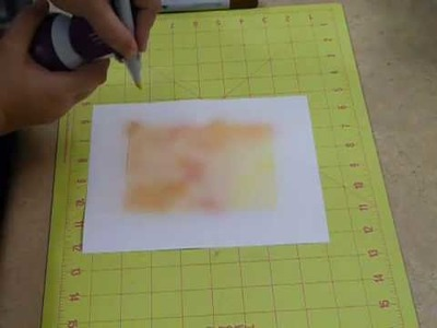 Making  an Air Brush from your Copic Markers