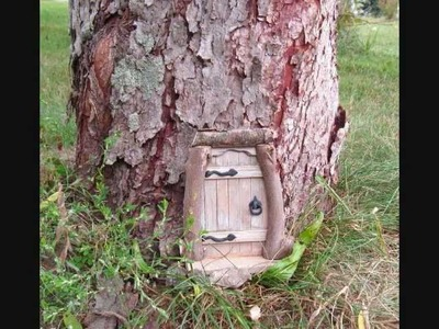 Making Wooden Fairy & Gnome Doors Pt 2