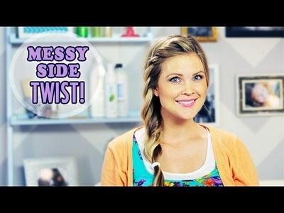 Messy Side Twist!!