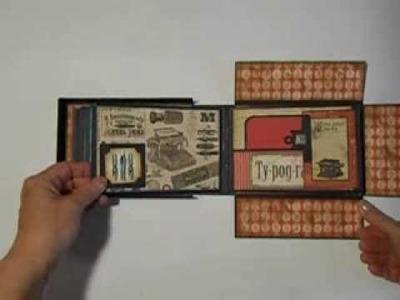 Mini Album in a Box, Graphic 45 Typography