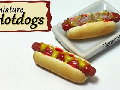 Miniature Hotdogs - Polymer Clay Tutorial