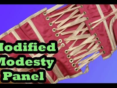 Modified Modesty Panel (remove, bone, suspend) | Lucy's Corsetry