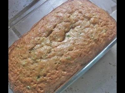 Moist Zucchini Bread Recipe