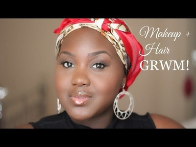 My EVERYDAY Makeup + Hair Routine GRWM and How to wrap a bob with Alyssum Hair