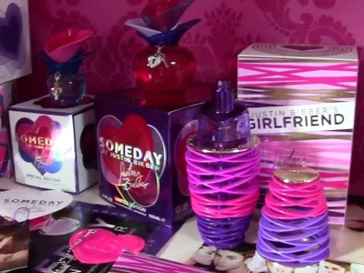 My Justin Bieber Perfume Collection!