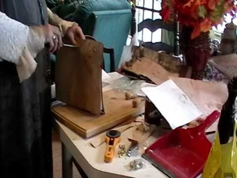 Nancy Today: Birch bark book covers ASMR Birchbark (basket making tutorial) beresta korzina