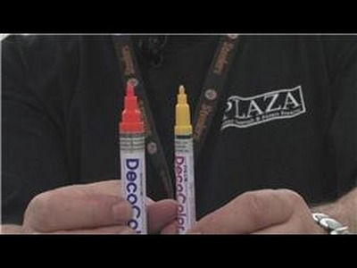 Paint Markers : About Deco Opaque Paint Markers