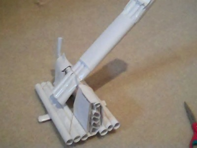 Paper Catapult that Shoots Hard!