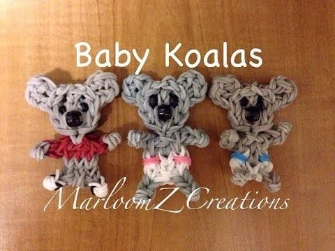 Rainbow Loom Baby Koala - Nederlands, Koala-beertje