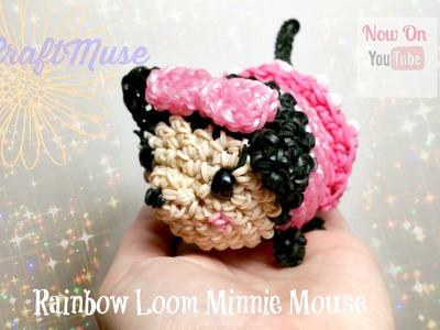 Rainbow Loom Minnie Mouse Loomigurumi.Amigurumi