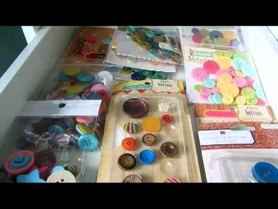 Scraproom Series 2013: How I organize my embellishments