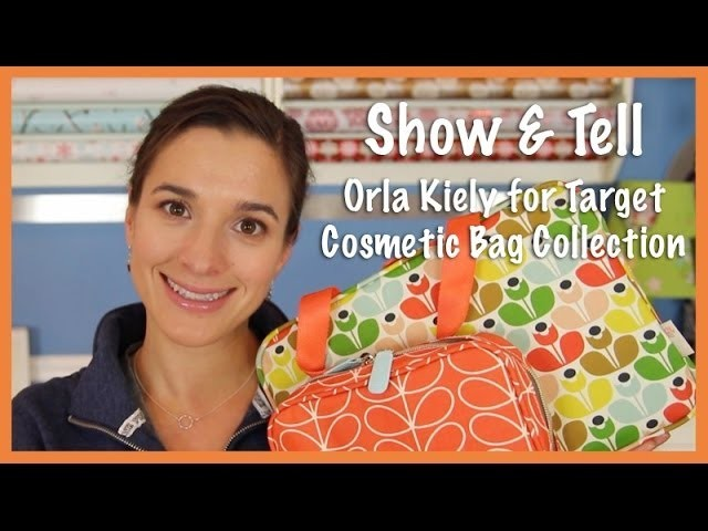 Show & Tell: Orla Kiely for Target Cosmetic Bag Collection