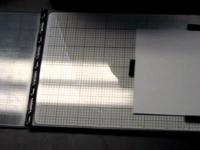 Sizzix - Letterpress with the Sizzix Vagabond