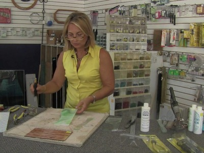 Stained Glass Art : How to Cut Stained Glass