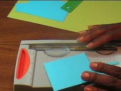 Technique: Paper Cutting