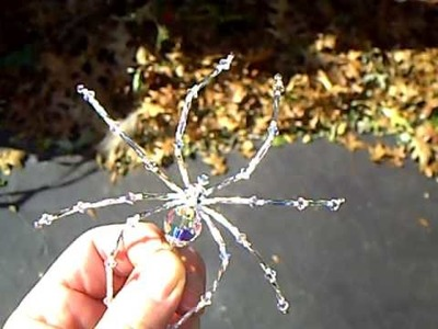 Treasures by Tiziana Swarovski Crystal AB Christmas Spider