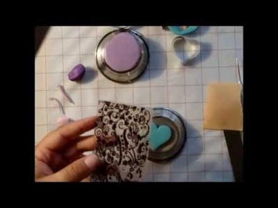 Tutorial on using your rubber stamps with Polymer Clay.