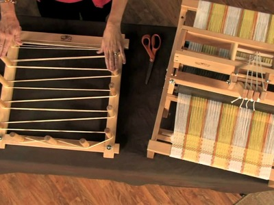 Weaving on the Schacht Table Loom