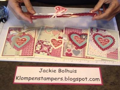 4 Quick Cards Using Designer Series Paper